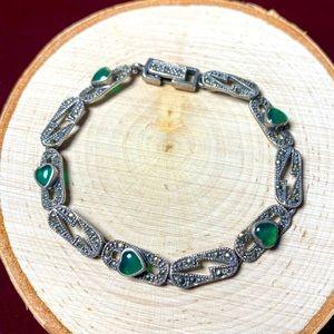 VTG| 925💚 Marcasite Bracelet ✨